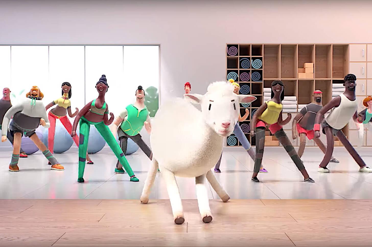 Owieczka tańczy